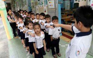 Một số biện pháp giúp học sinh lớp một hòa nhập nhanh