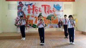 Một số biện pháp xây dựng chương trình văn nghệ chào mừng ngày sinh nhật Bác Hồ 19-05 tại liên đội tiểu học