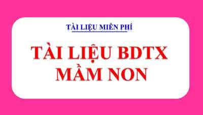 BDTX mầm non