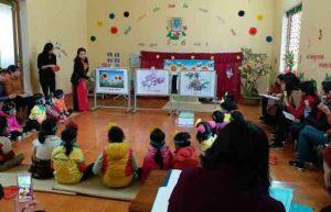 Một số giải pháp nâng cao chất lượng hoạt động kể chuyện cho trẻ mầm non