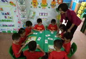 Một số biện pháp dạy trẻ 5-6 tuổi làm quen chữ cái
