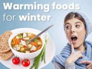 10 loại thực phẩm giúp giữ ấm cho cơ thể trong mùa đông