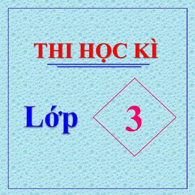 Thi Hoc Ki