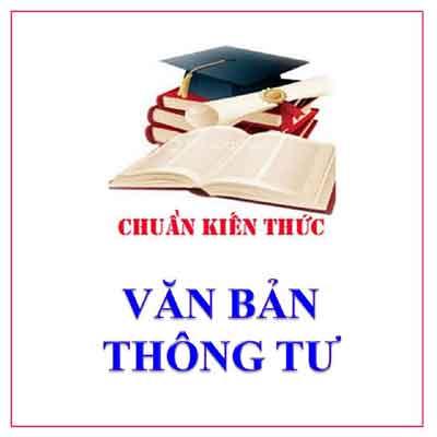 Van Ban Thong Tu