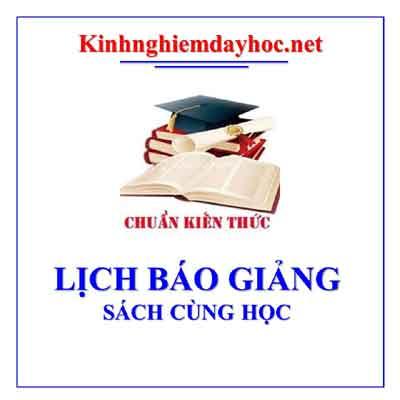 Lich Bao Giang Sach Cung Ho