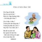 Chú ở bên Bác Hồ – Môn Tập đọc lớp 3 tuần 20