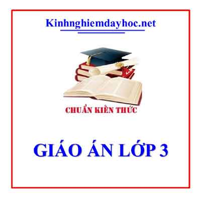 Giao An Lop 3