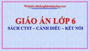 Giao An Lop 6 Ctst