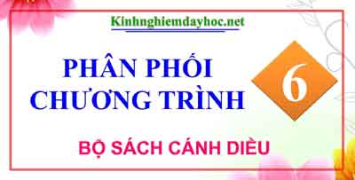 Ppct Lop 6 Sach Canh Dieu