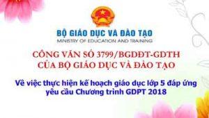 Cong Van 3799 Cua Bgd